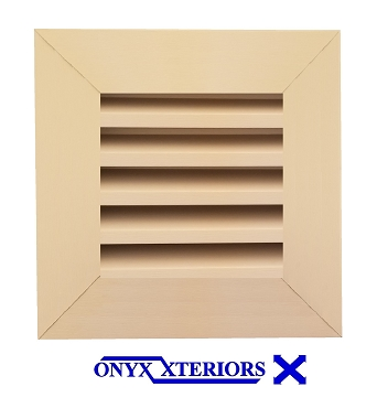 11 X 11 X 2 Square Front Flange Loft Air Functioning Vent