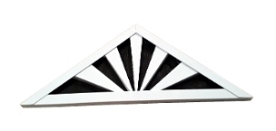 Rising Sun Gable Vent