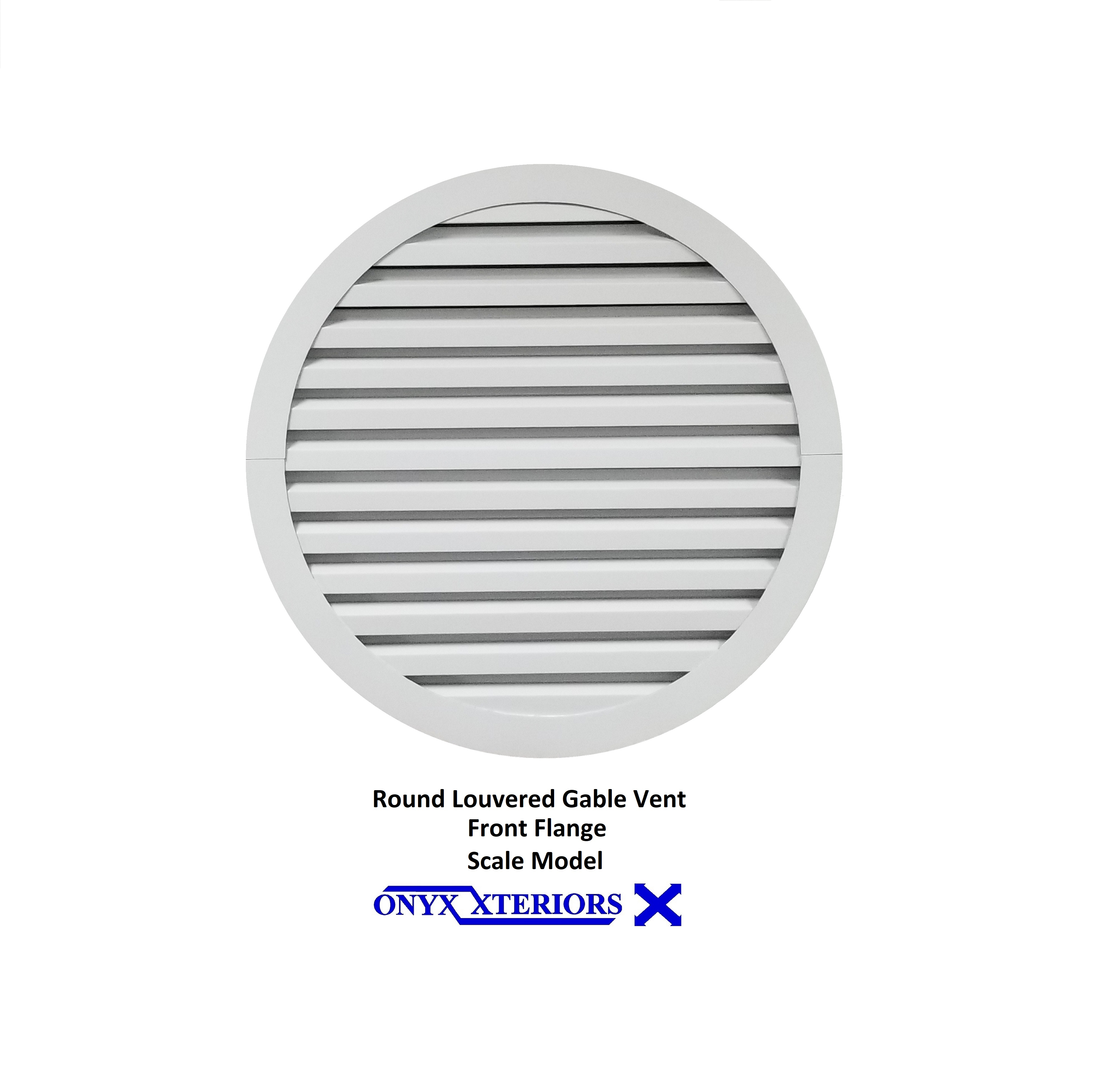 Round Gable Vents SS