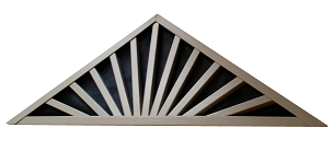 Sunburst Gable Vent By Measure