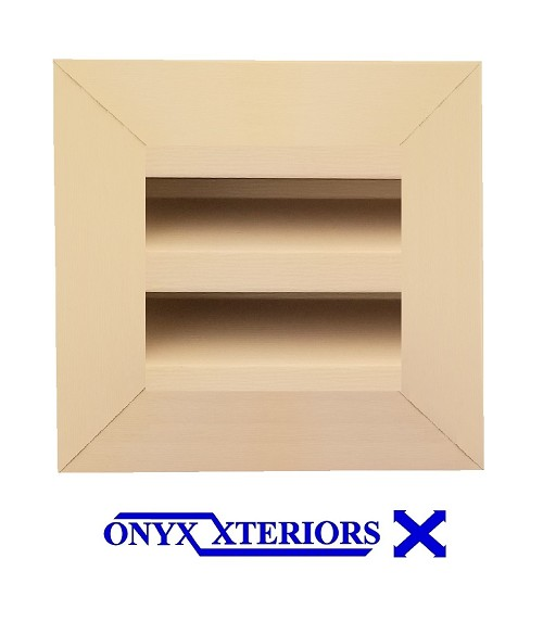 10 X 10 X 4 Square Front Flange Custom Exhausting Vent