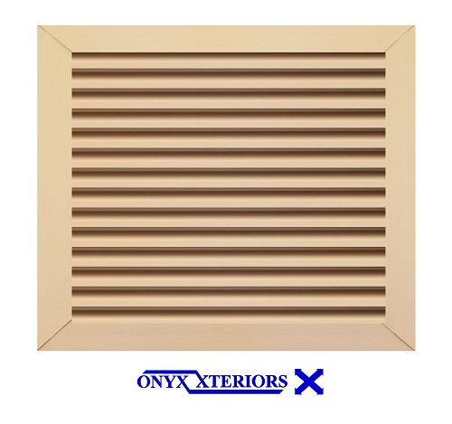 48 X 48 X 4 Square Front Flange Gable Functioning Vent