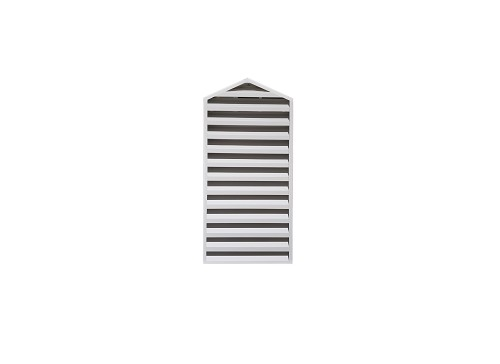. 146 x 90 x 4 Cathedral Back Flange House Exhaust Vent